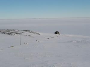 Испытания установки Green Rock в Антарктиде.