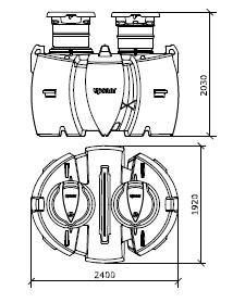 Система автономной канализации Uponor BioClean5